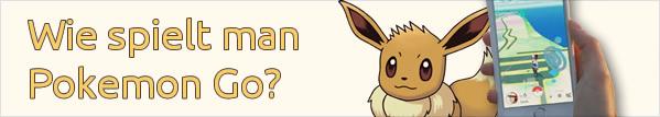 Wie spielt man Pokemon Go?