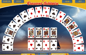 Crescent Solitaire Screenshot