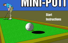 Minigolf Screeshot