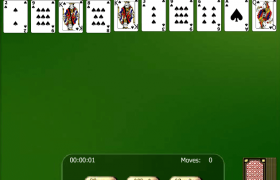 Spider Solitaire Gold Screenshot