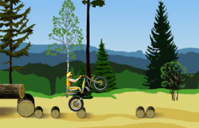 Stunt Dirt Bike Screenshot