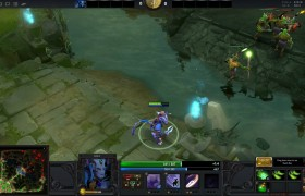Dota 2 Onlinespiel Screenshot