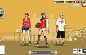 Freestyle Street Basketball Gratis Online Spiel Screenhsot