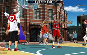 Freestyle Street Basketball Gratis Online Spiel Screenhsot