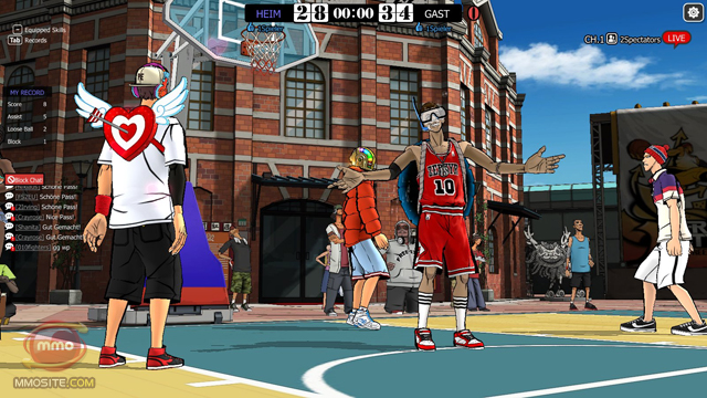 online basketball spielen