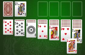 Kartenspiel Alleine