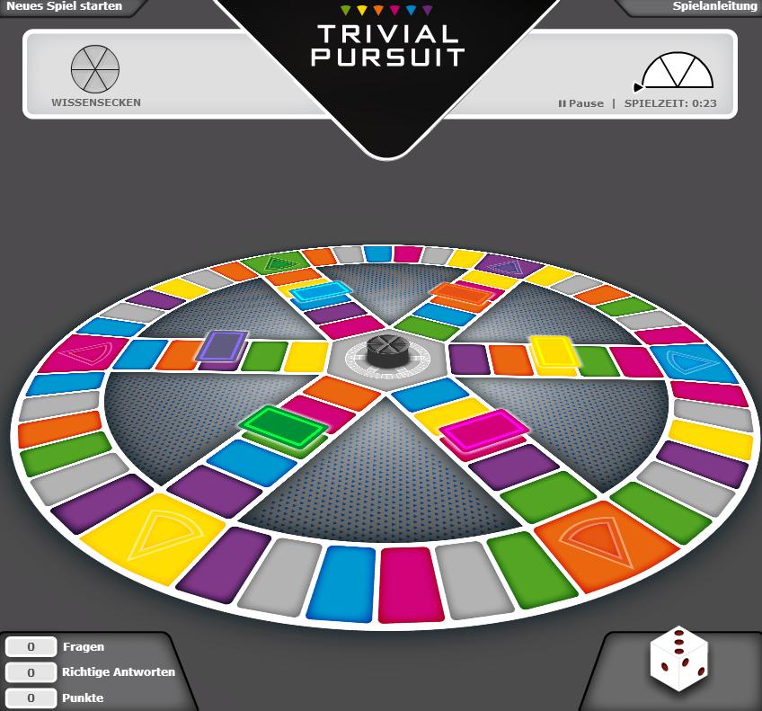 Trivial Pursuit Online Spielen